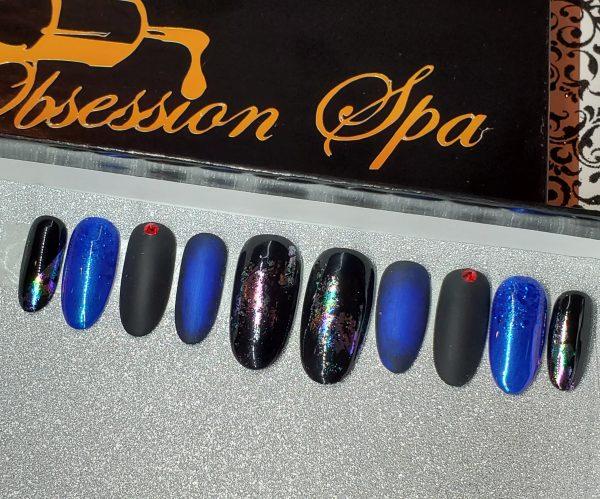 BLACK BLUE & WOW